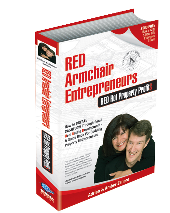 To purchase the small real estate development book visit: www.REDarmchairEntrepreneurs.com